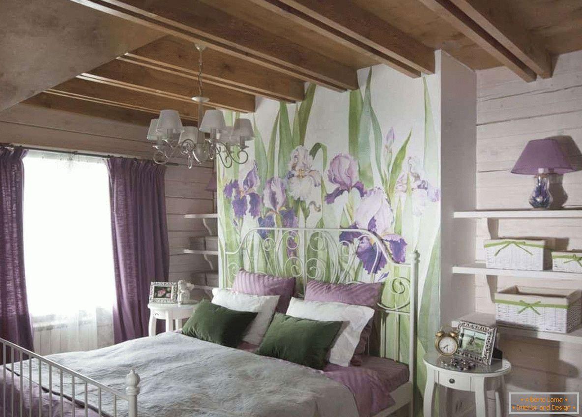 Camera da letto in stile provenzale - una selezione di idee