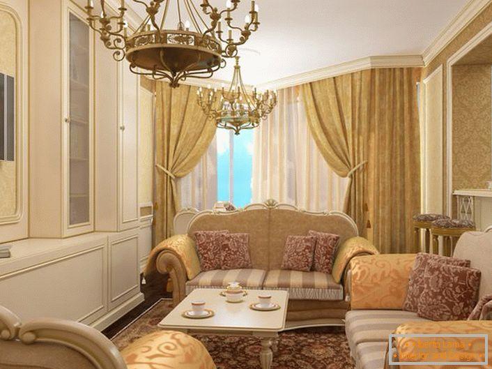 Stile barocco - lusso reale (53 idee di design)