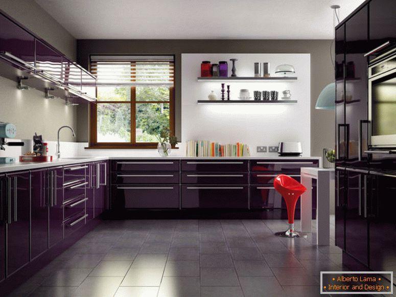 Cucina scura 75 foto di insolito design di interni di una