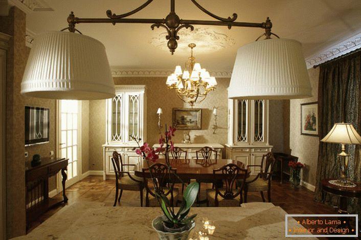 le sottigliezze dello stile inglese nel design di una casa