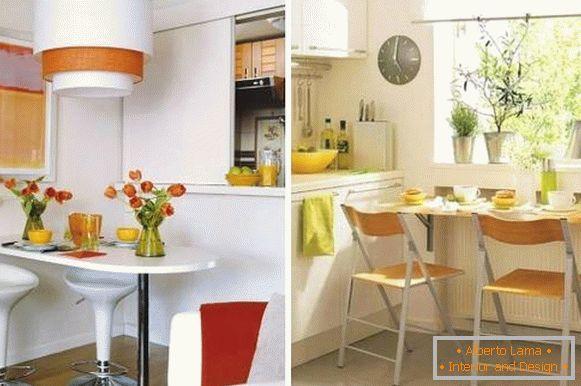 Piccola Sala Da Pranzo : Accogliente sala da pranzo in cucina foto con idee di