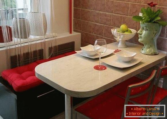 Accogliente sala da pranzo in cucina - 30 foto con idee di