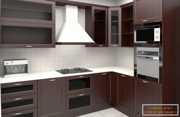 Varianti di arredamento per angolo cucina (70 idee