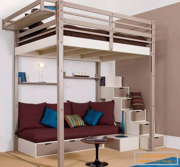 Scegli un letto a soppalco per bambini e adulti